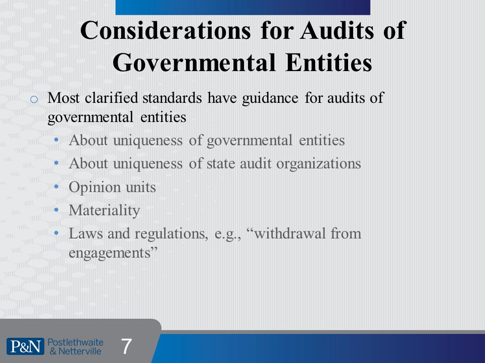 2011 Yellow Book Effective for audits of years ending on or after 12/15/2012 18