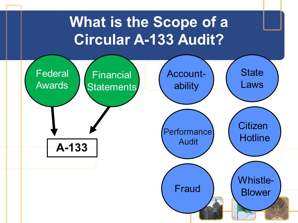 What is the Scope of a Circular A-133 Audit.