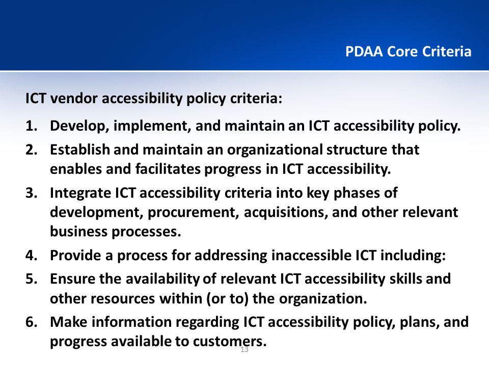 PDAA Maturity Model 14 ComponentsLaunchIntegrateOptimize 1.