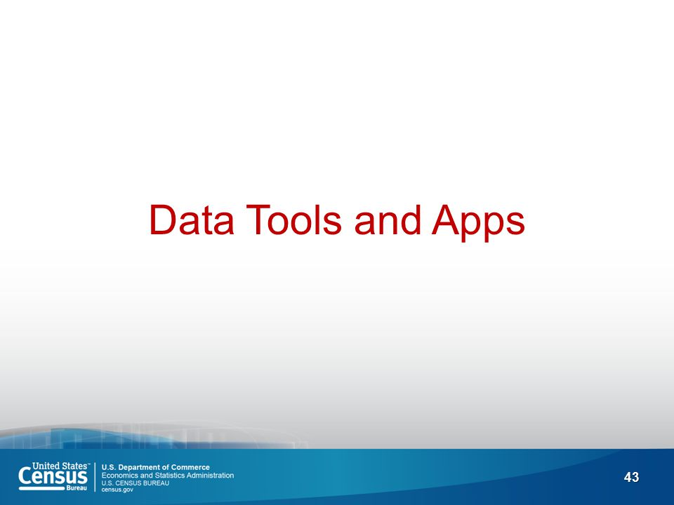 43 Data Tools and Apps