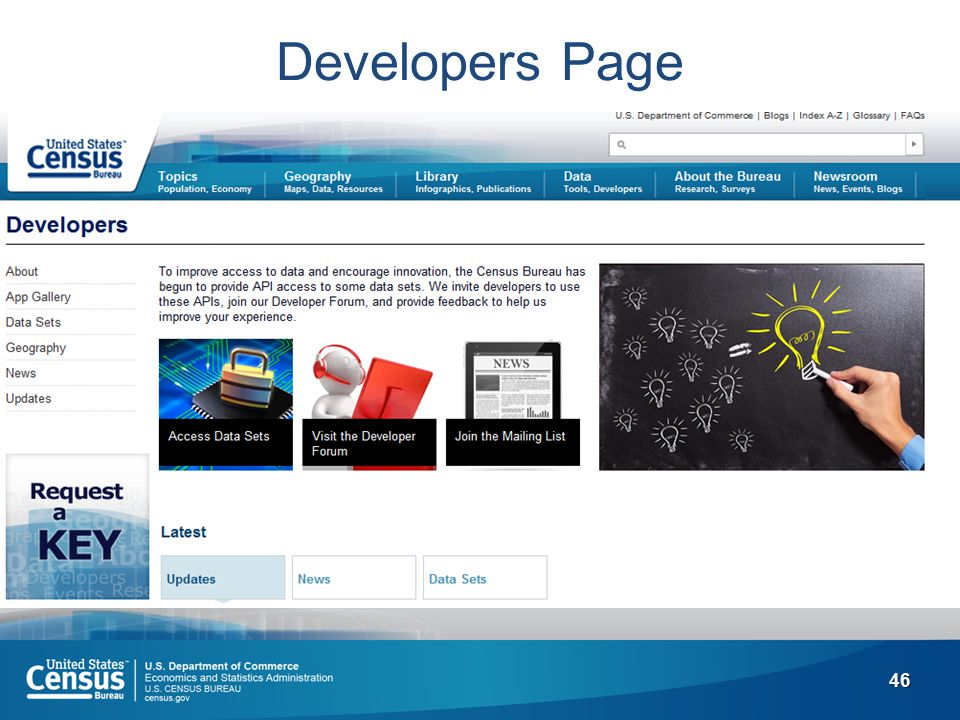 46 Developers Page