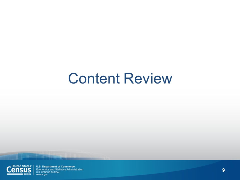 9 Content Review