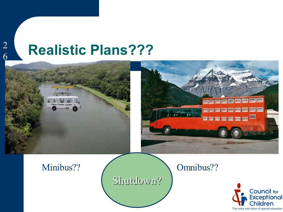 Minibus Omnibus Shutdown Realistic Plans 2626
