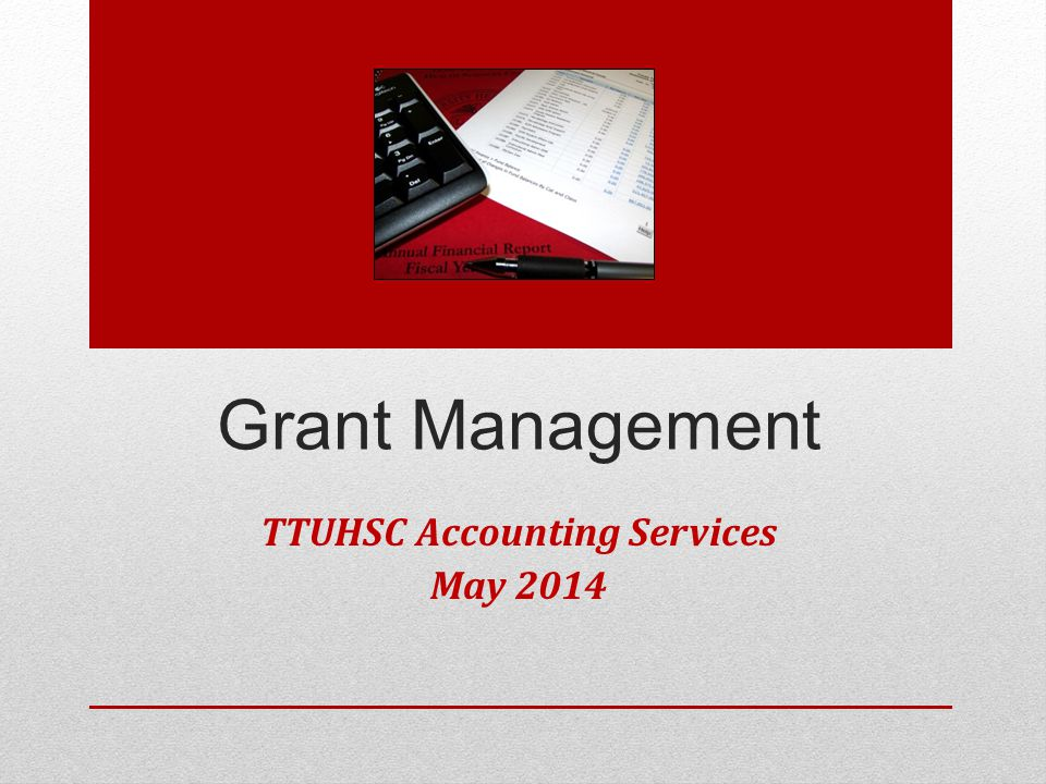 PI Leaving TTUHSC Department must notify OSP and Accounting Services as soon as possible.