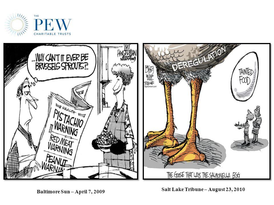 Baltimore Sun – April 7, 2009 Salt Lake Tribune – August 23, 2010