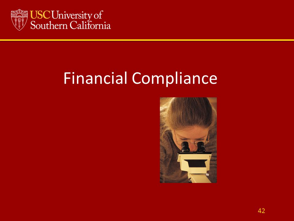 Financial Compliance 42