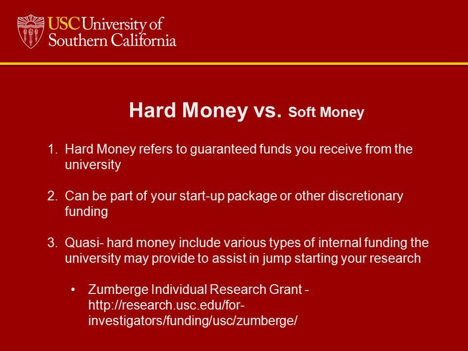 Hard Money vs.