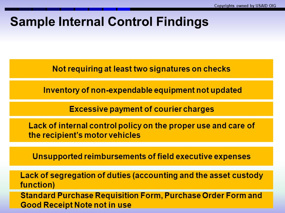 S#ItemEligible (√) / Ineligible(X) 1Donations(X) 2Organization furnished automobiles for personal use (X) Except as direct cost and with prior approva