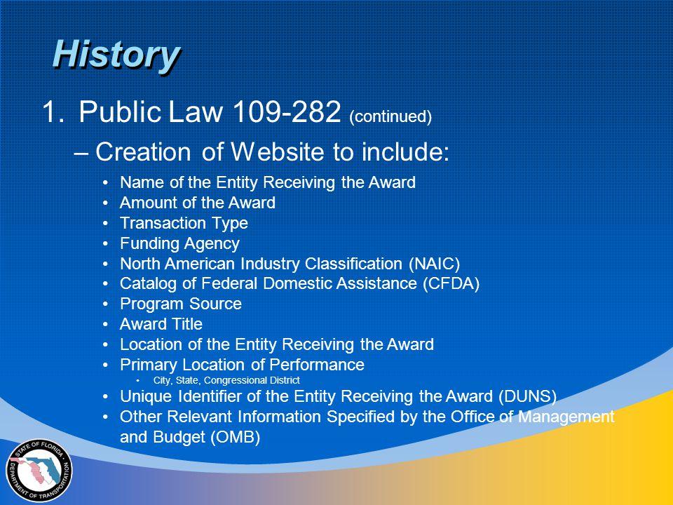 Treasury Account Symbol (Program Source) –Transportation Agency Code = 69 i.e.