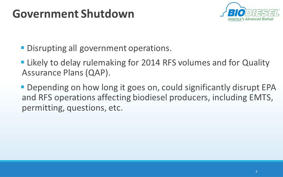 RFS and Congress U.S.