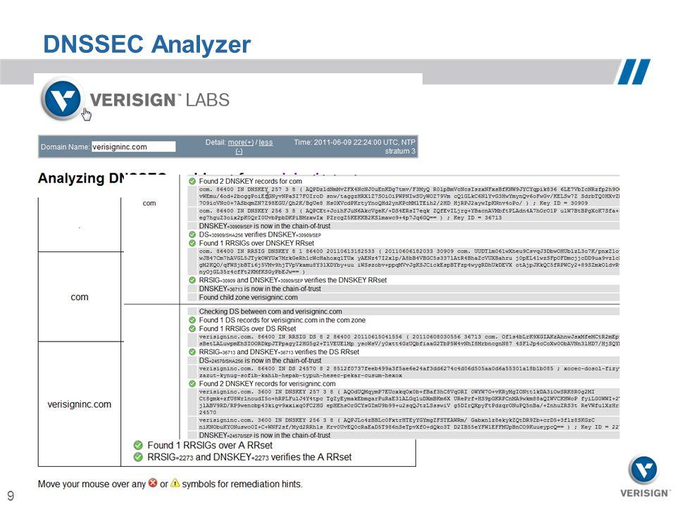 9 DNSSEC Analyzer