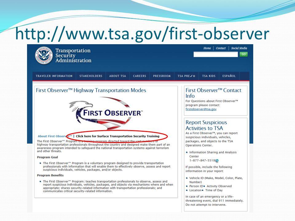 http://www.tsa.gov/first-observer