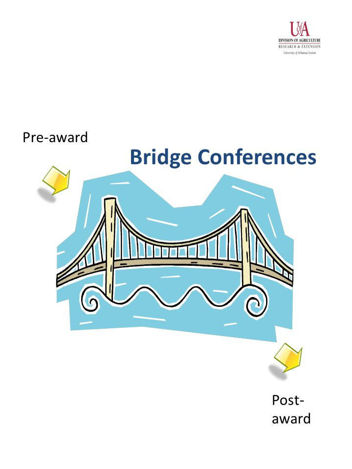 Bridge Conferences Pre-award Post- award