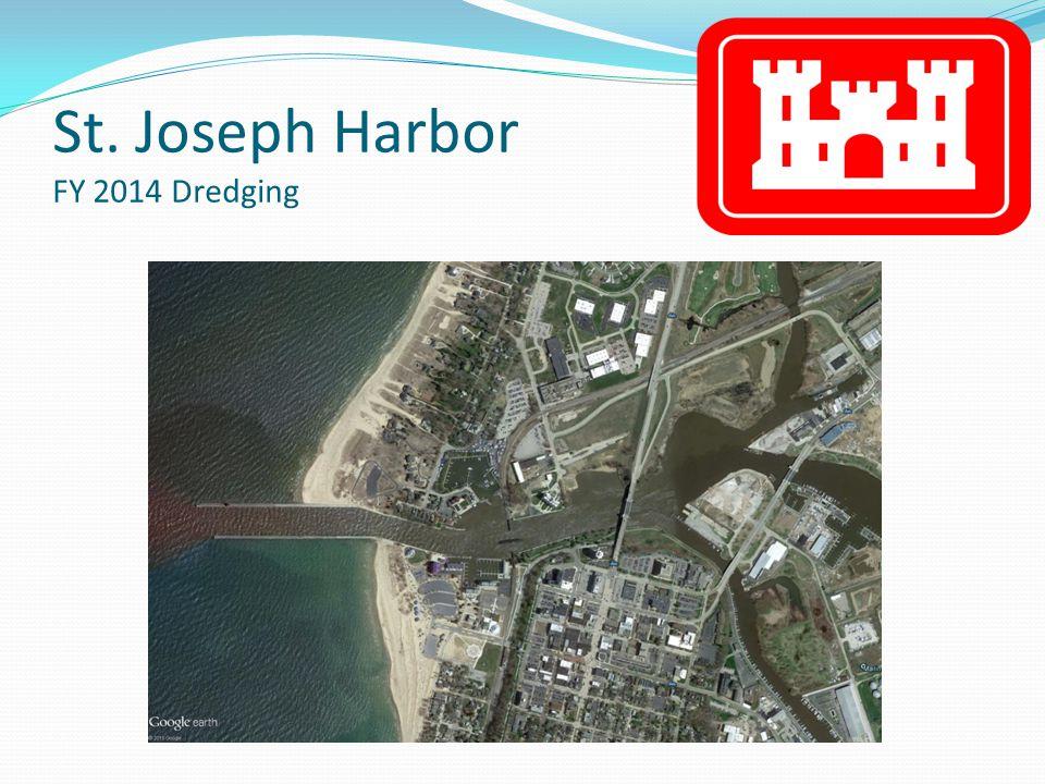 St. Joseph Harbor FY 2014 Dredging