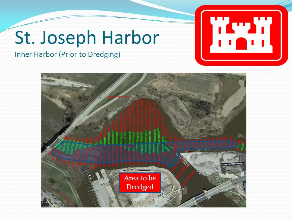 St. Joseph Harbor Inner Harbor (Prior to Dredging) Area to be Dredged