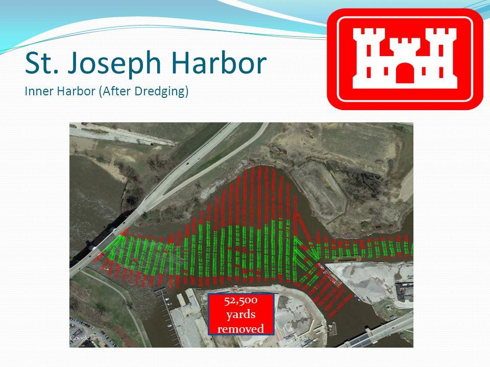 St. Joseph Harbor Inner Harbor (After Dredging) 52,500 yards removed