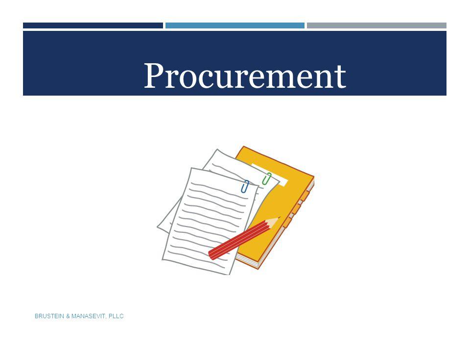 Procurement BRUSTEIN & MANASEVIT, PLLC 56