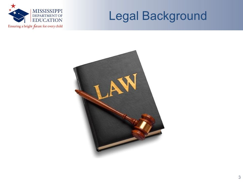 3 Legal Background