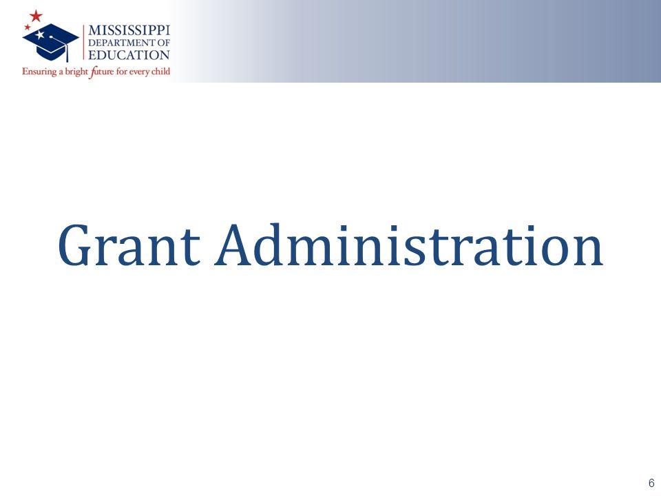 Grant Administration 6
