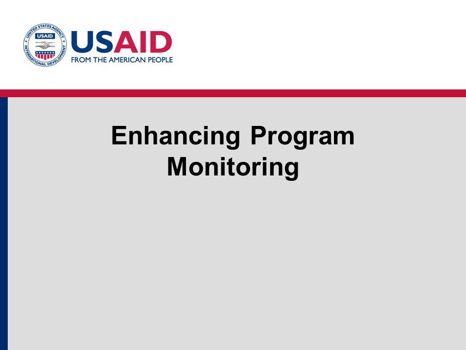 Enhancing Program Monitoring