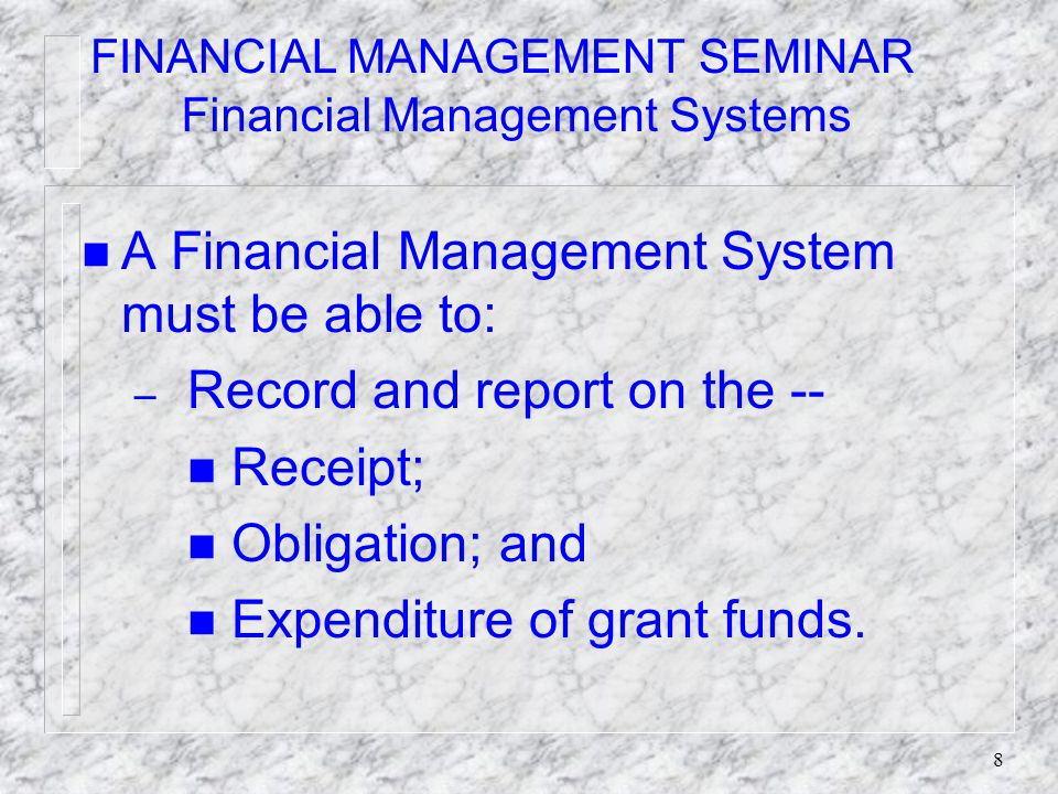 28 Continued on next slide – Manual Format Financial Status Report (Facsimile continued) 10.