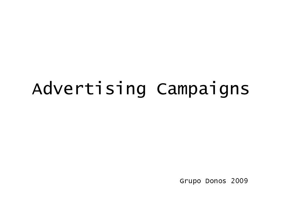 Advertising Campaigns Grupo Donos 2009