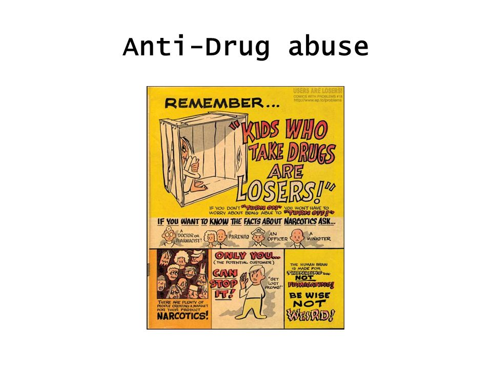 Anti-Drug abuse