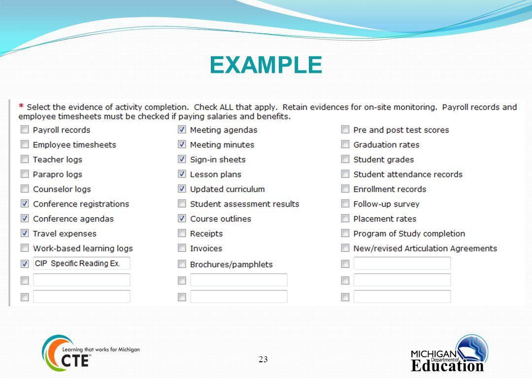 EXAMPLE 23