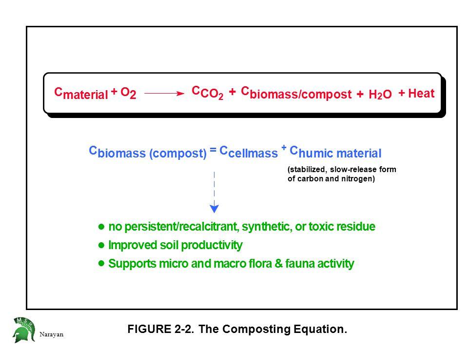 Narayan FIGURE 2-2. The Composting Equation.
