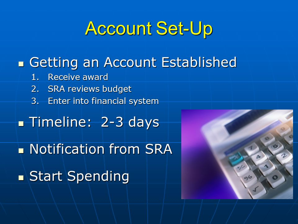 Incurring Expenses How do I start spending on my account.