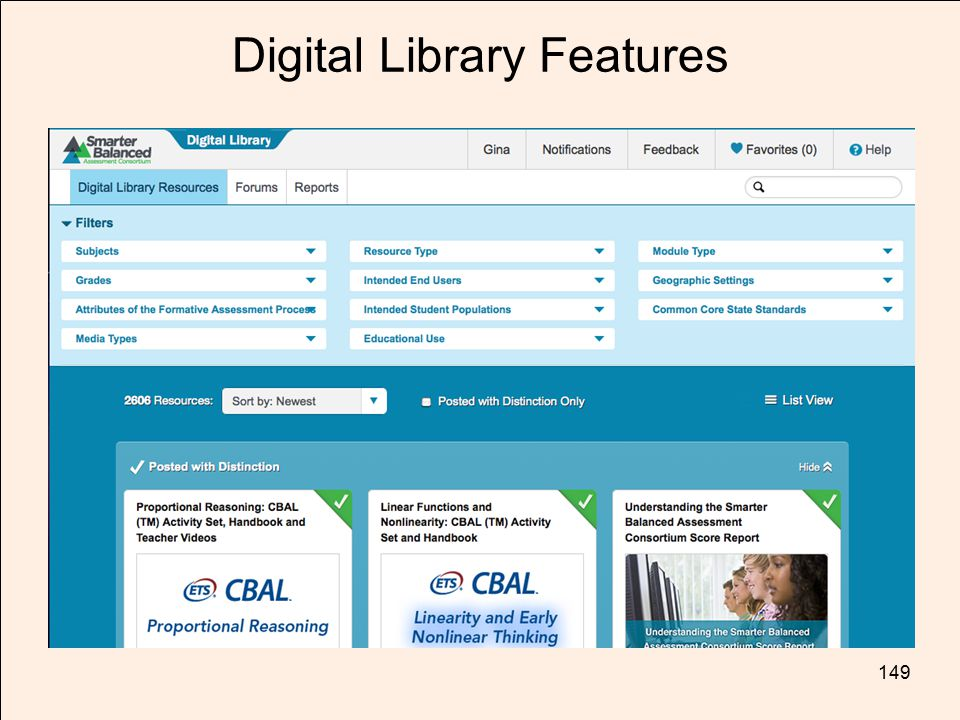 TOM TORLAKSON State Superintendent of Public Instruction Digital Library Features 149