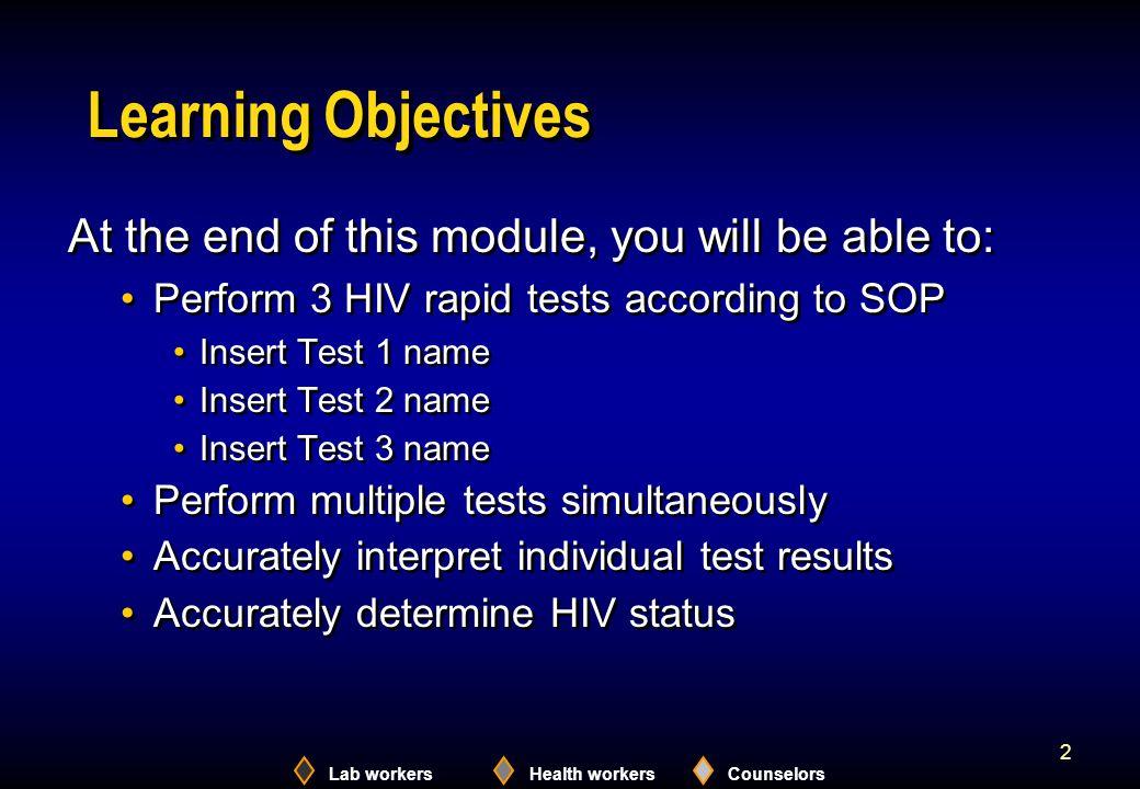 Lab workersHealth workersCounselors 23 Hema-Strip: Test Interpretation ReactiveInvalidNon-reactive