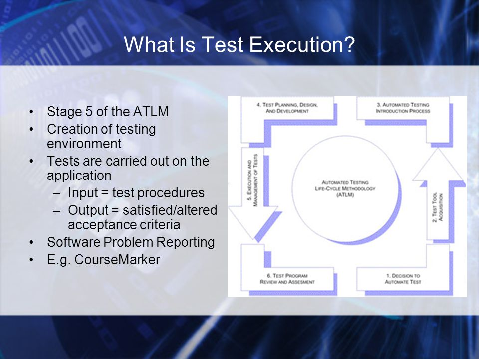What Is Test Execution.