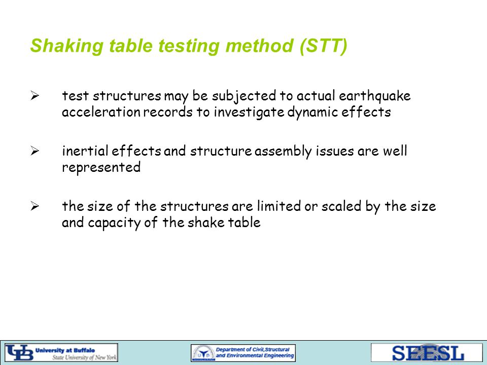 Pseudo-dynamic testing –Software Response analysis – Matlab Simulink Controller implementation – Matlab Stateflow