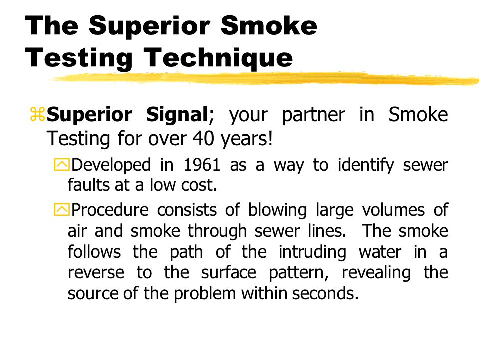 Proven to reduce inflow.