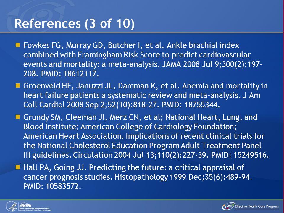  Fowkes FG, Murray GD, Butcher I, et al.