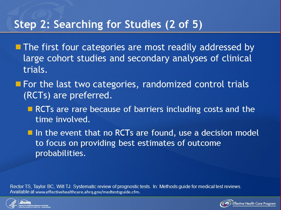  Summary statistics must be appropriate for the review's Key Questions.