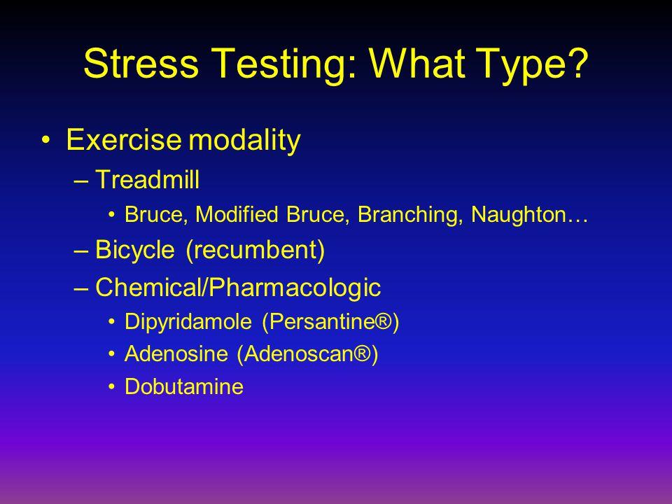 Stress Testing: What Type.