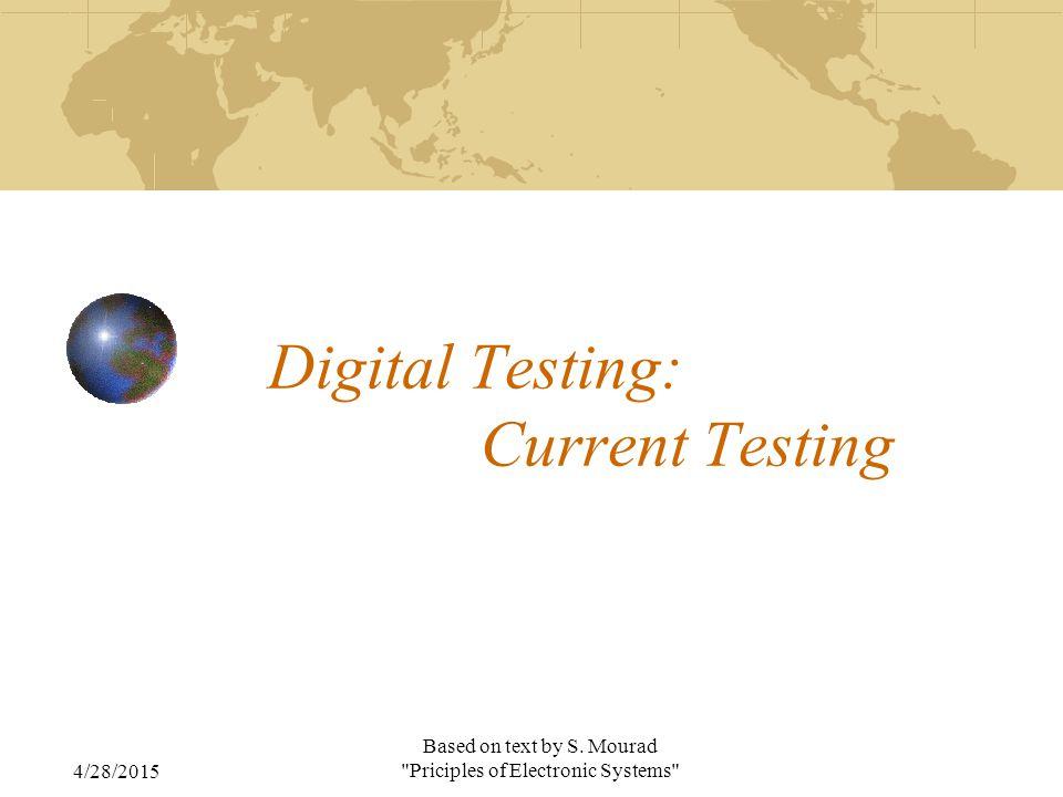 A Minimum Set of Design & Test Rule for IDDQ Testing A1.