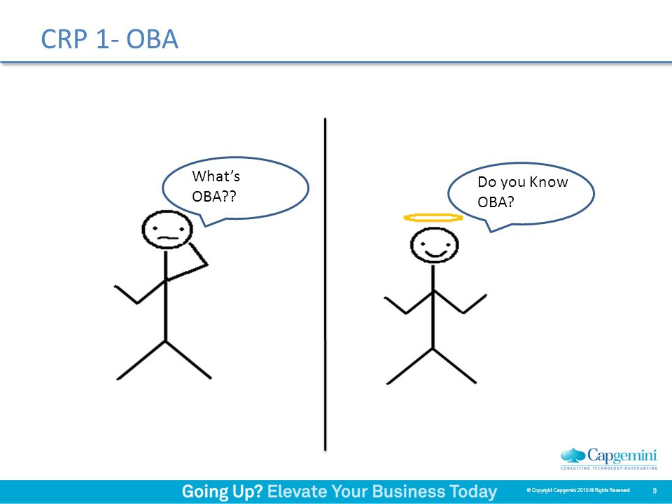 Use of OBA Powerful, Easy to use Rapid implementation solution for NEW E-Business Suite implementation.