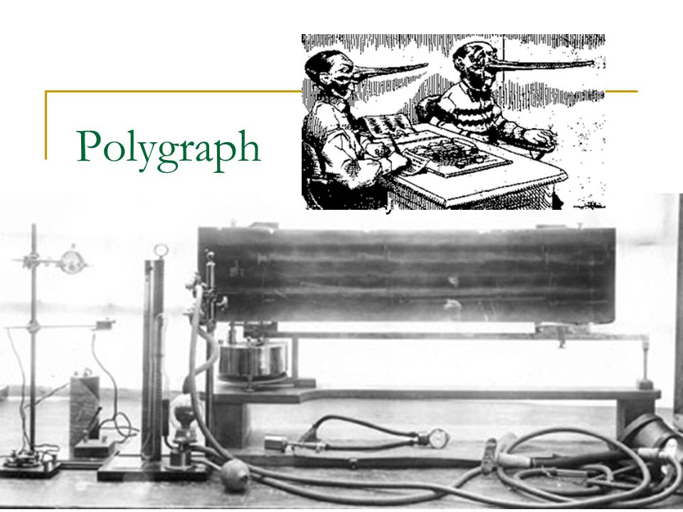 Polygraph Background Theory Types Accuracy