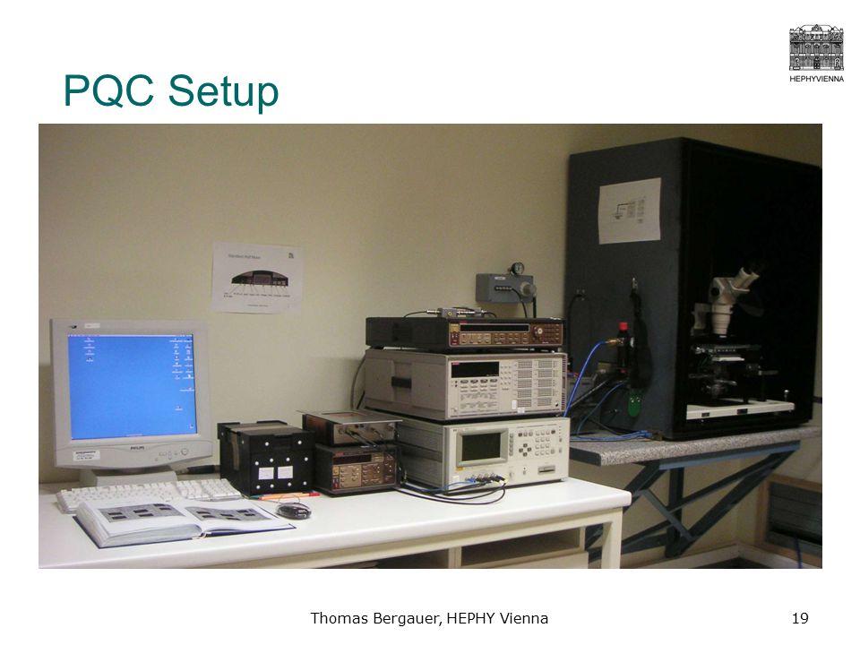 Thomas Bergauer, HEPHY Vienna19 PQC Setup