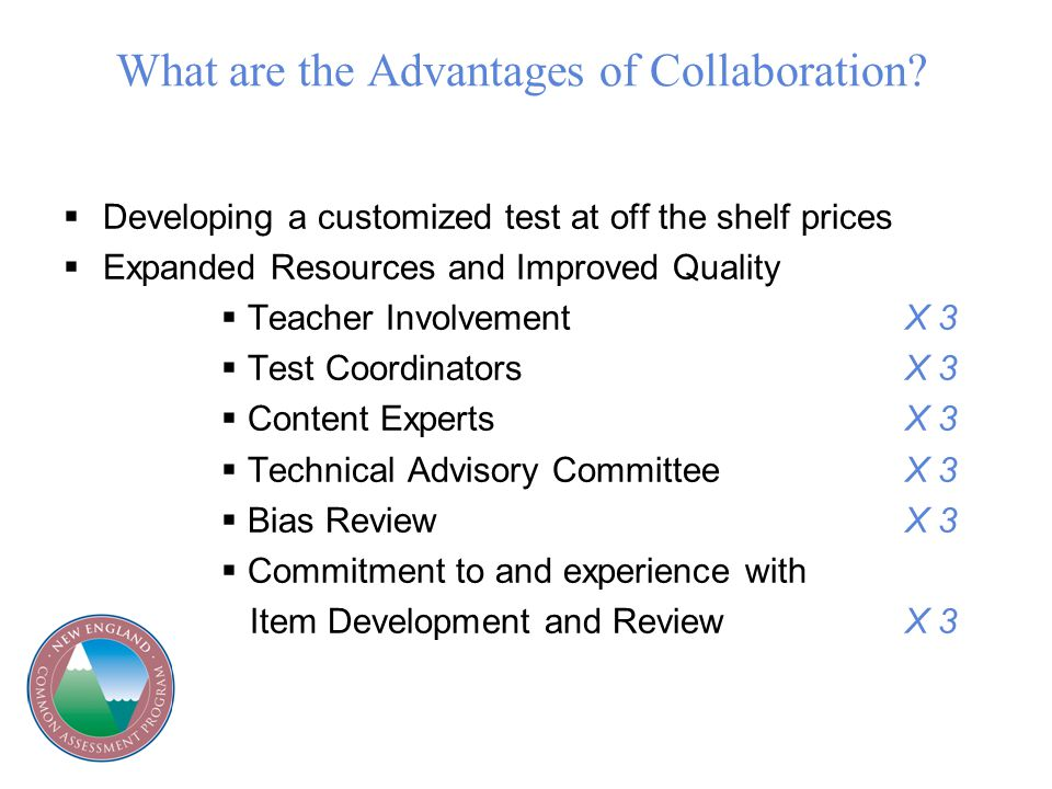 What are the Advantages of Collaboration.