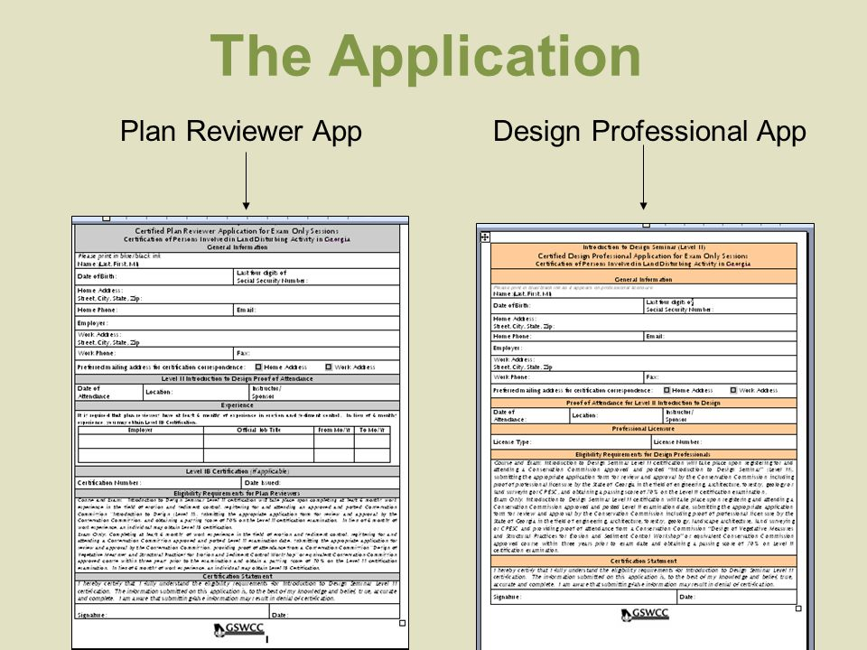 The Application Plan Reviewer AppDesign Professional App