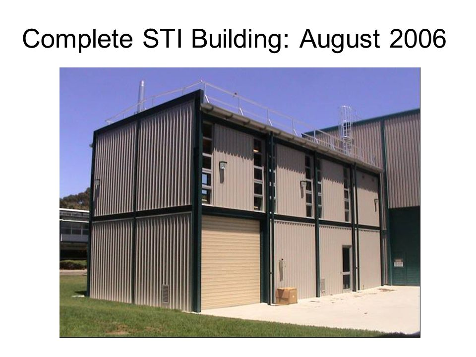 Complete STI Building: August 2006