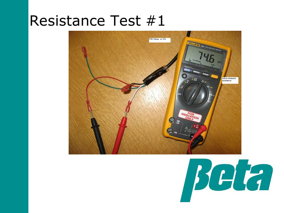 Resistance Test #1