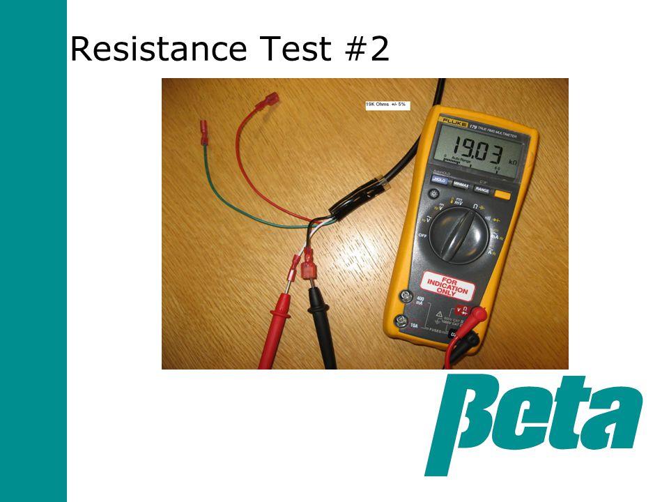 Resistance Test #2