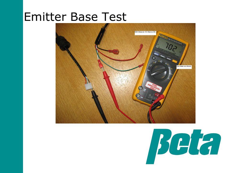 Emitter Base Test