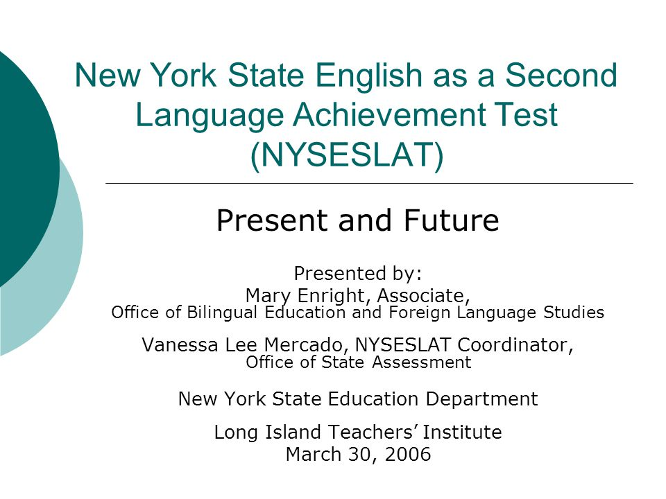NYSED-State Assessments  Provide a uniform measure of student achievement across all districts, all schools, all classrooms.