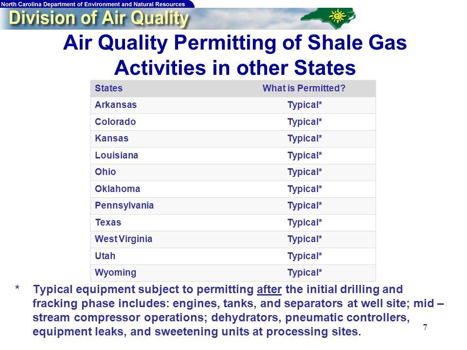 8 Emissions Assessment per G.S.